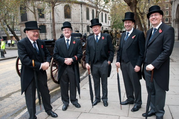 Members of the Worshipful Company of Fletchers.