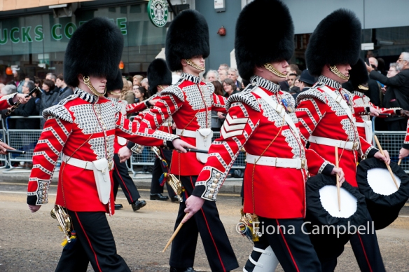 Band of the Welsh Guards.