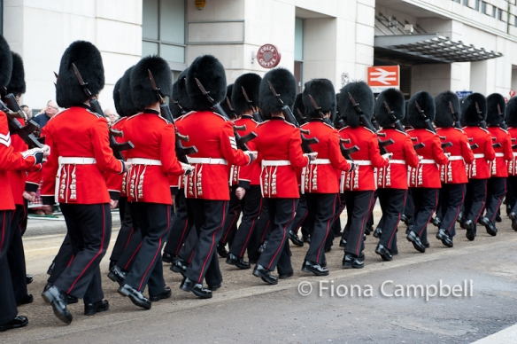 The Welsh Guards.