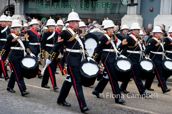 The Royal Marines.