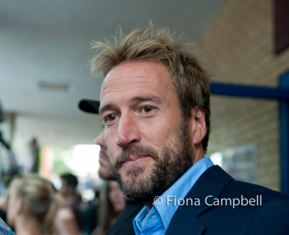 Ben Fogle, friend of William had just left the Lindo Ward where his sister was also giving birth.